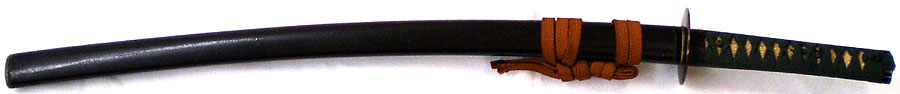 日本刀(脇差) 於南紀文珠重国造之(二代南紀重国)(刀身2)