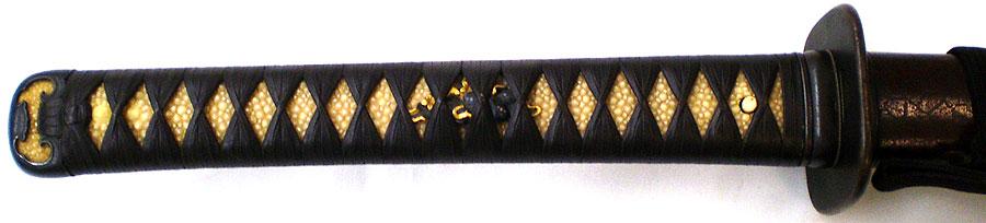 日本刀 於紀州文珠重国(二代南紀重国)(刀身2)