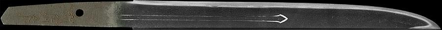 日本刀(短刀) 和州住則長(全体1)