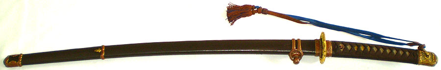 伝 末関(陸軍軍刀拵付) (刀身2)