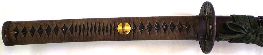 日本刀 於南紀浅野金光造之 (刀身2)