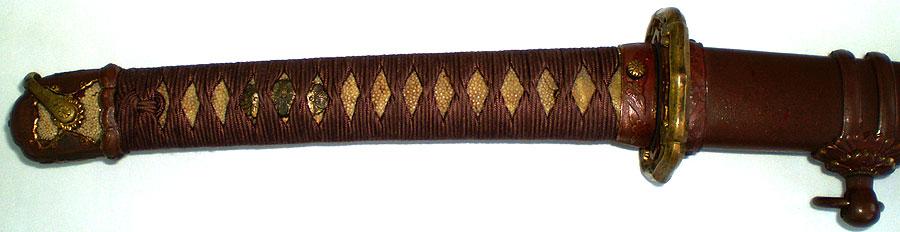 日本刀(軍刀)  関住高崎金繁作(刀身2)
