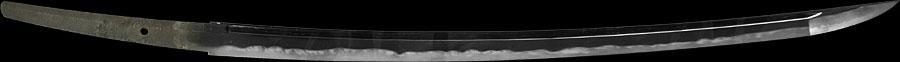 日本刀  武州住藤原順重作 千葉氏所用(北辰一刀流創始者千葉周作所持)(全体2)