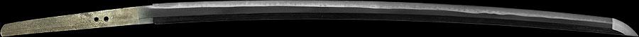 日本刀(軍刀) 濃州関住宗忠鍛之(全体1)