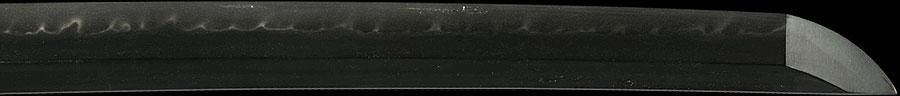 日本刀  横山加賀介藤原祐永 天保十年八月日(刀身3)