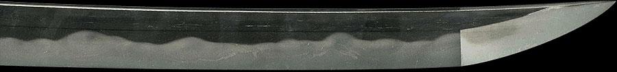 日本刀  作陽幕下士細川正義(花押)(刀身2)