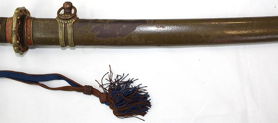 日本刀  軍陣刀(刀身2)