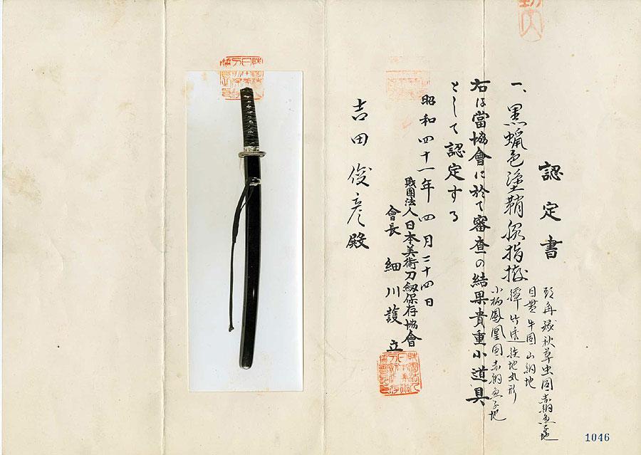 日本刀  紀州住氏廣(刀身2)