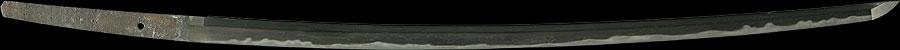 日本刀  伝宇多国宗(全体2)