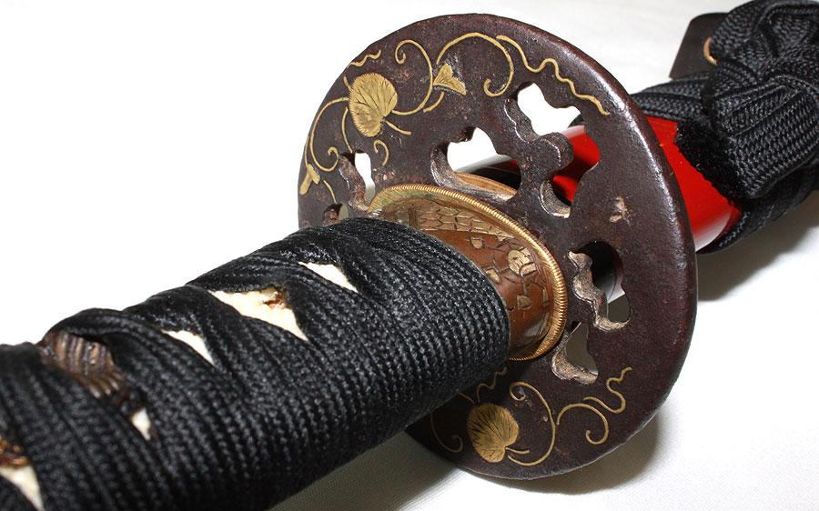 日本刀  伝越前兼則(刀身3)