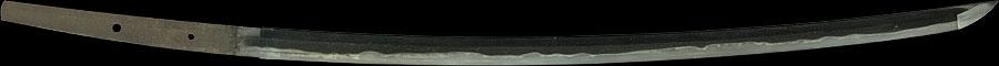 日本刀  備前国住長船(幸光)(全体2)
