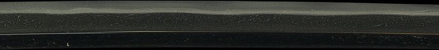日本刀  菊紋 洛陽信濃守藤原信吉造之 平安城住信勝以南蛮鉄打之(刀身3)