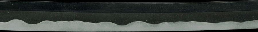 日本刀  不壊玉人吉光(剣巻き龍の欄間透かし彫)(刀身3)