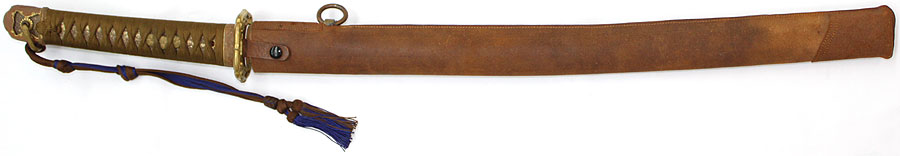日本刀 伝紀州安廣(陸軍航空隊軍刀拵付)