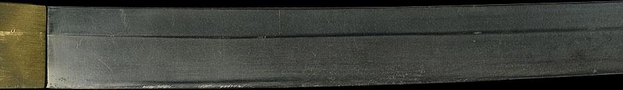 日本刀 清次(陸軍下士官軍刀拵付)
