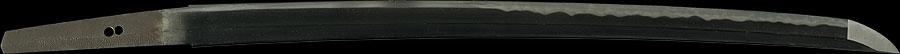 日本刀 伊予大掾橘勝国 三代目勝国改之(加賀陀羅尼勝国)(新刀大鑑所載)大業物