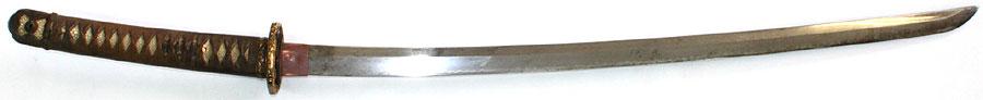 日本刀 軍陣刀(無銘新刀)(孫六兼元写)