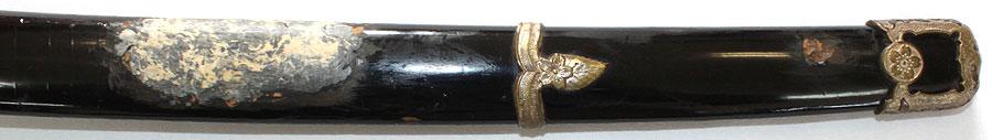 刀 海軍軍刀(耐錆性刀身)(錨マーク付き)