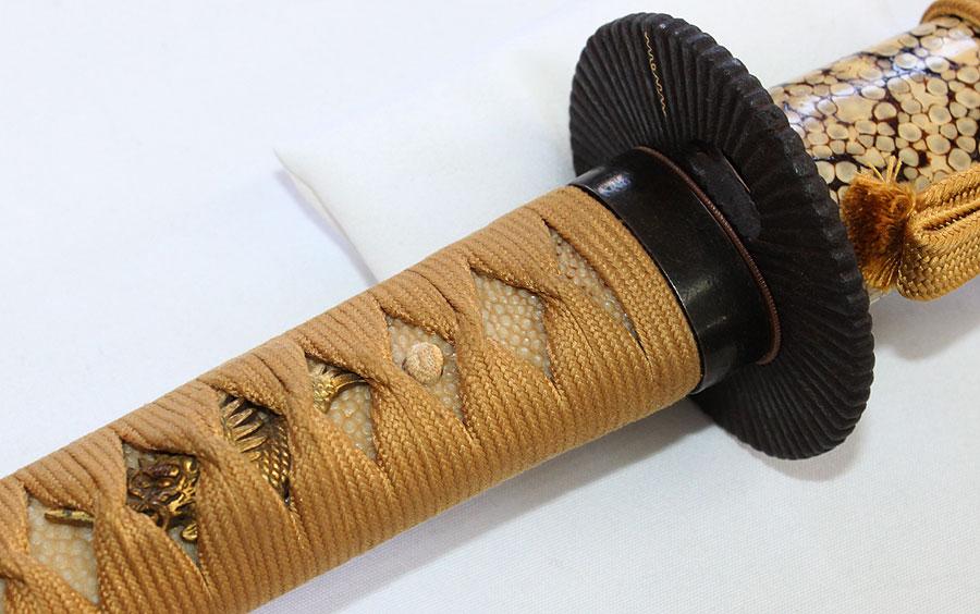 刀 伝末手掻(鮫鞘付拵)