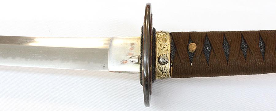 刀 当麻(海軍軍刀拵付)