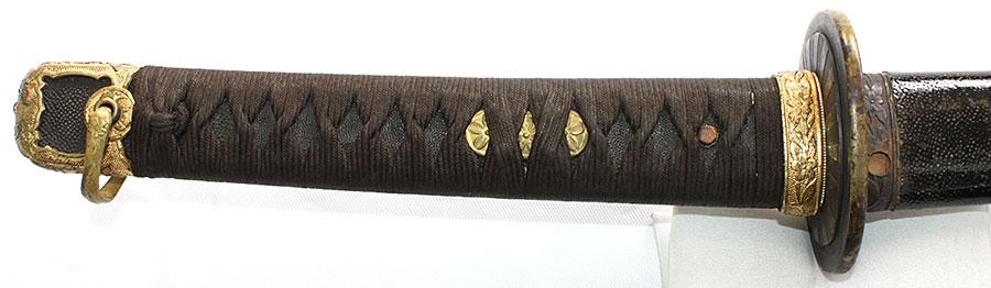 刀 西部宗命(にしべむねなが)(海軍軍刀拵付)