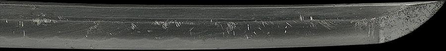 刀 一刀斉安綱 二千六百年(軍刀拵付)