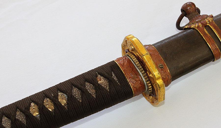 刀 戦車隊用軍陣刀(無銘現代)