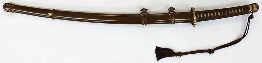 刀 因州住兼次作(美しい軍刀拵付)