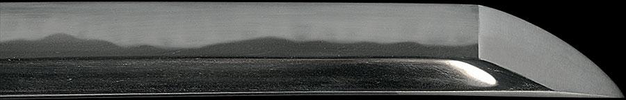 刀 雲州住貞照作之 昭和六十二年十月日 常行一直心(島根県重要無形文化財)