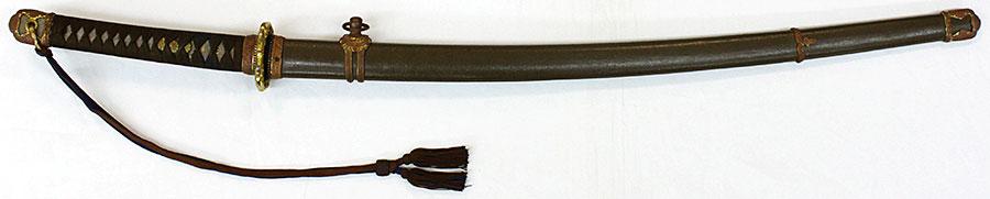 刀 濃州大杉住石原金直作(陸軍将校用軍陣刀拵付)