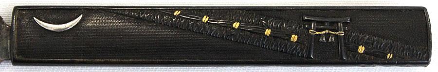 刀 兼松(豪華な波千鳥高蒔絵塗鞘合口拵付)