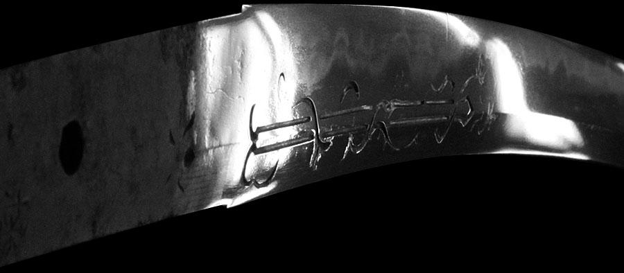 刀 播磨守藤原忠国(刃切れ)